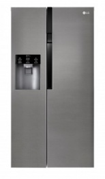 LG 2 doors Refrigerator and freezer with ice maker